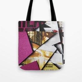 Cat Flips Through Magazine Tote Bag