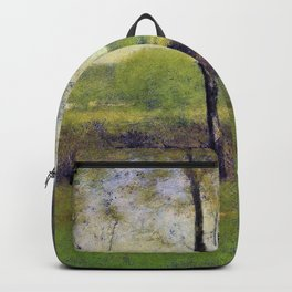 George Inness - Wood gatherers, An autumn afternoon - Digital Remastered Edition Backpack