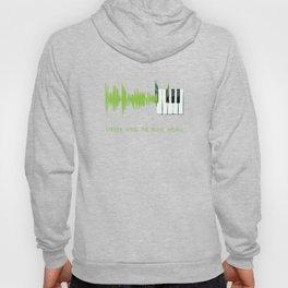 Where words fail, music speaks. (lime) Hoody
