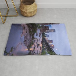 Moody Richmond Cityscape From The James River Rug