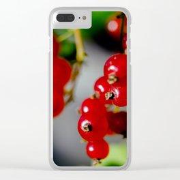 Autumn taste Clear iPhone Case