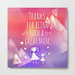 Mother's day Special Metal Print