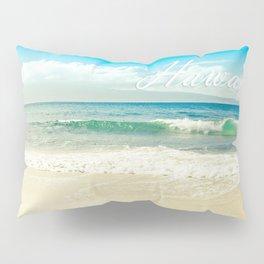 Hawaii Graphic Tropical Beach Decor Pillow Sham