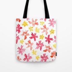 Sunny Florals Tote Bag