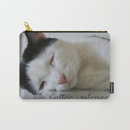 Sleepy kitty Carry-All Pouch