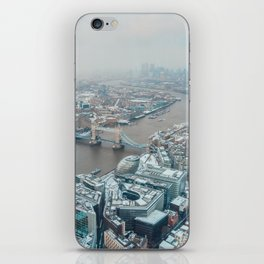 Snowy London iPhone Skin