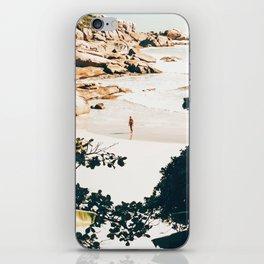 Solo Traveler || #illustration #travel iPhone Skin