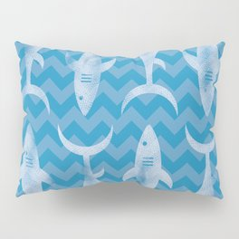Sharks in the Water Pillow Sham
