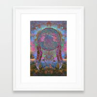 dreamcatcher Framed Art Prints featuring Dreamcatcher by Starstuff