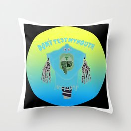 You'll Never Have the Comfort of [My] Silence Again Throw Pillow