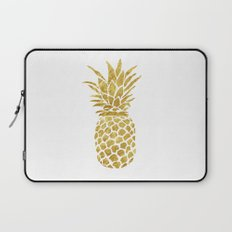 Golden Pineapple Laptop Sleeve