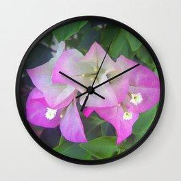 Soft Purples Wall Clock