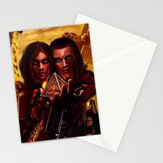 SWTOR - Sith twins selfie Stationery Cards