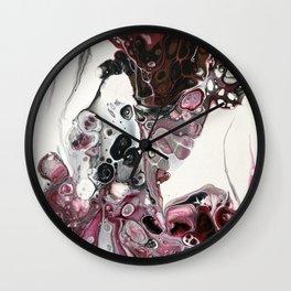 Chasing Hearts Wall Clock