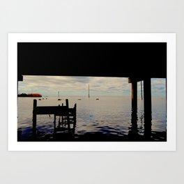 Under the Bridge II Art Print