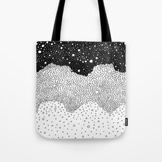 Space/ BW Tote Bag
