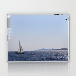 Let Yourself be Free Laptop & iPad Skin