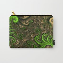 Fantasy World II, Abstract Fractal Art Carry-All Pouch