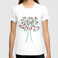 christmas tree T-shirts featuring Christmas Tree by Pippi Dust