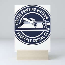 Squeegee Social Club Mini Art Print