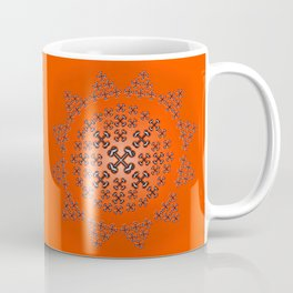 Holloween Crossbones Medallion Coffee Mug