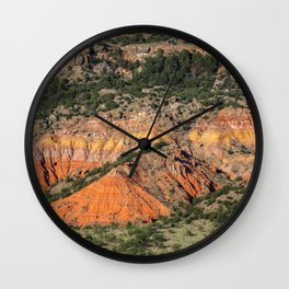 Palo Duro Canyon State Park Landscape Wall Clock