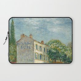 Vincent van Gogh - Restaurant Rispal at Asnières (1887) Laptop Sleeve
