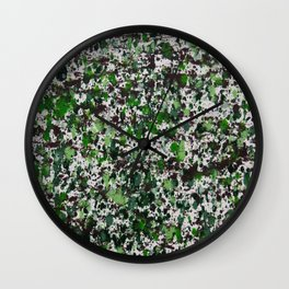 Lorne Splatter #2 Wall Clock