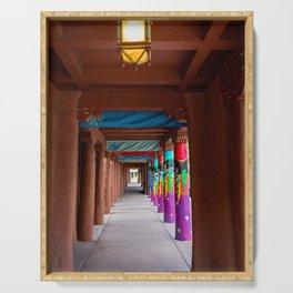 IAIA Museum Porch Santa Fe NM Serving Tray