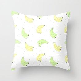 Plátano de Canarias Throw Pillow