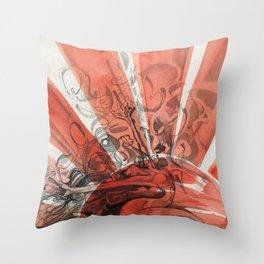 Rising Bonsai Throw Pillow