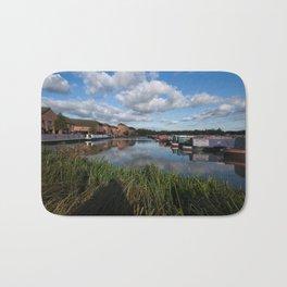 Barton Marina Narrow Boats Bath Mat