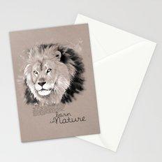Lion (BornInNature) Stationery Cards