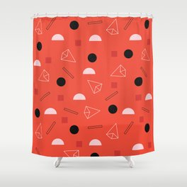 Geometric Life Shower Curtain