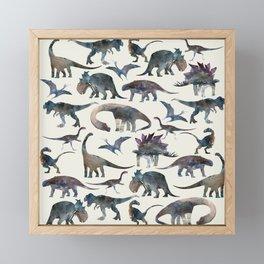Dinosaurs Framed Mini Art Print