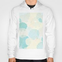 shells Hoodies featuring Shells by Karen Hischak