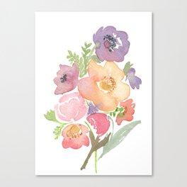 Bouquet No. 1 Canvas Print