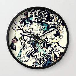 Abstract 5 Wall Clock