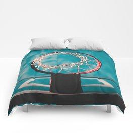 basketball hoop 6 Comforters