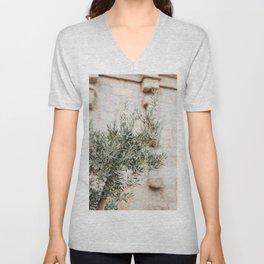 Olive tree in France | Travel Photography Corsica | Fine art photo print Unisex V-Neck