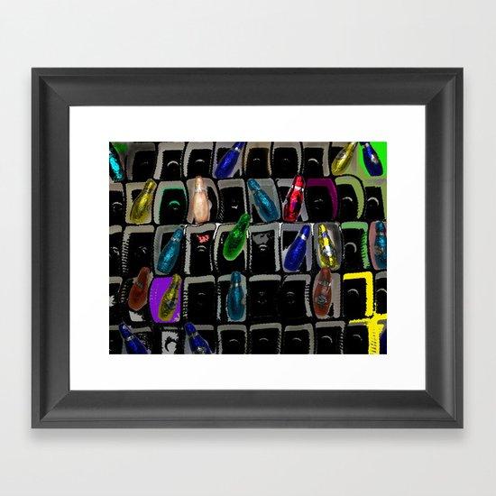 colour Framed Art Print