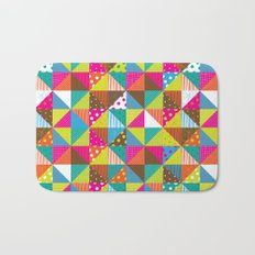 Crazy Squares Bath Mat