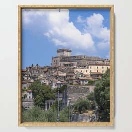 The Castle of Sermoneta Serving Tray