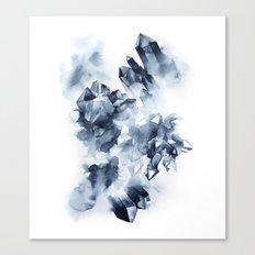 Smokey Crystals Canvas Print
