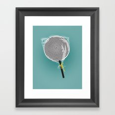 HypnoPop Framed Art Print