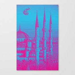 Sultanahmet, Istanbul Turkey 3b Canvas Print