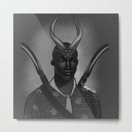 Swordsman Metal Print