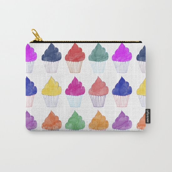 Cupcake Pattern Carry-All Pouch