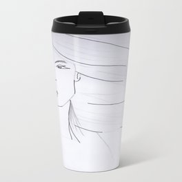 Girl of Air Travel Mug