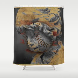 Remembrance of the Angel Child - New Mixed Version Shower Curtain